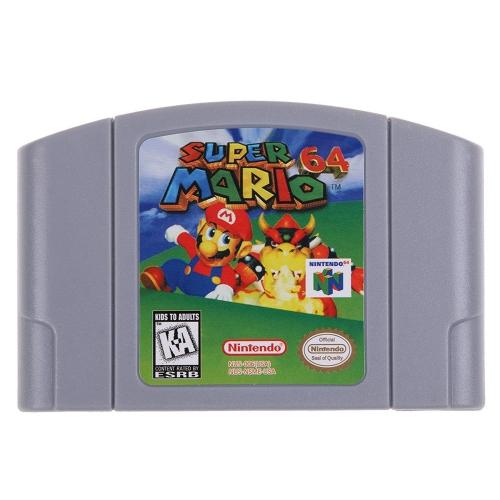 任天堂64用N64マリオスマッシュブラザーズゼルダビデオゲームカートリッジコンソールカード64ビットゲーム英語版US版(スーパーマリオ)