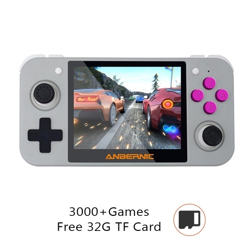 RG350 Retro Video Game Console With 32GB TF Card