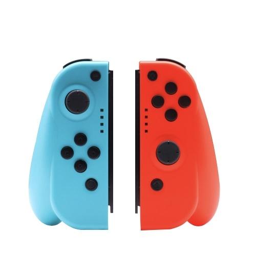 Gamepad Compatível com Nintendo Switch Joy-Con Controller L / R Joysticks Sem Fio Controladores de Switch Acessórios