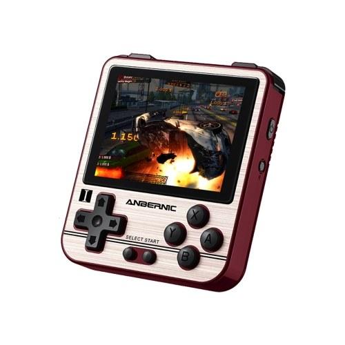 RG280V Retro-Spielekonsole Handheld-Game-Player Integrierte 2500 Spiele Open Source-System 2,8-Zoll-IPS-Bildschirm CNC-Shell-Musik-Player 3,5-mm-Audioausgang