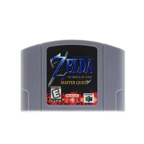 任天堂64用N64マリオスマッシュブラザーズゼルダビデオゲームカートリッジコンソールカード64ビットゲーム英語版US版(ゼルダ)