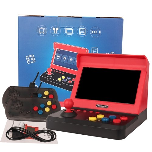 Q70 7-inch Mini Game Console Double Nostalgic Arcade Home Joystick