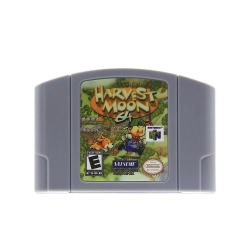 Für Nintendo 64 N64 Mario Smash Bros Zelda Videospiel Patrone Konsole Karte 64 Bit Spiele Englisch Sprache US Version (Harvest Moon)