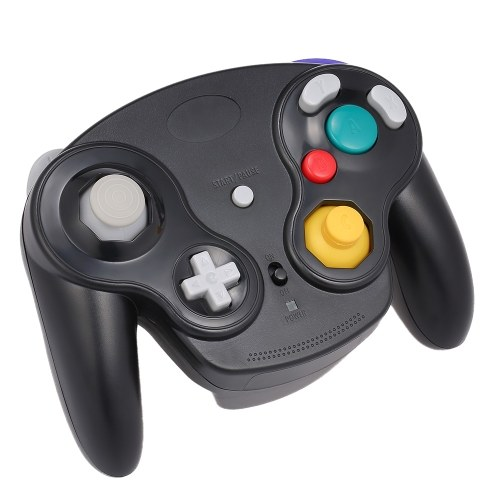 Wireless Gamepad 2.4G Wireless Connection Joystick Gaming Controller for Nintendo GameCube NGC