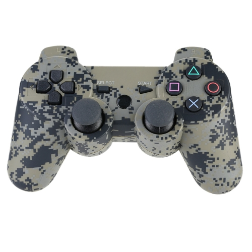 Wireless Bluetooth Gamepad Controller Bluetooth 4.0 Six Axis Double Vibration Game Console Gamepad  Camouflage for  PS3