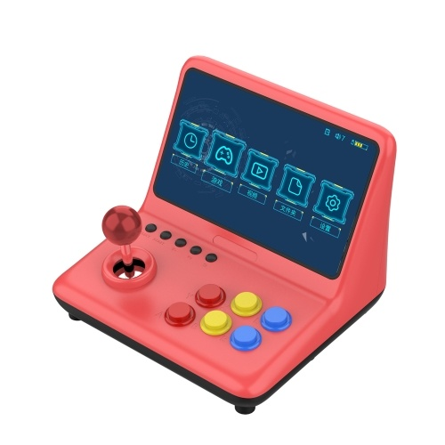 Powkiddy A12 Videospielkonsole Handheld Game Player Arcade Joystick