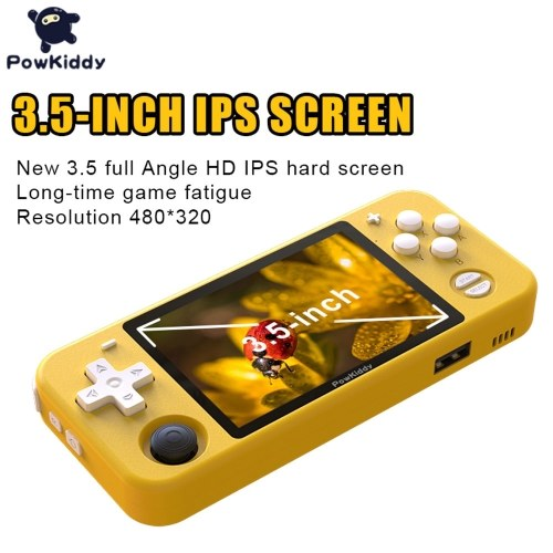 Powkiddy RGB10 Retro Game Console Handheld Game Player with 32GB TF Card Image