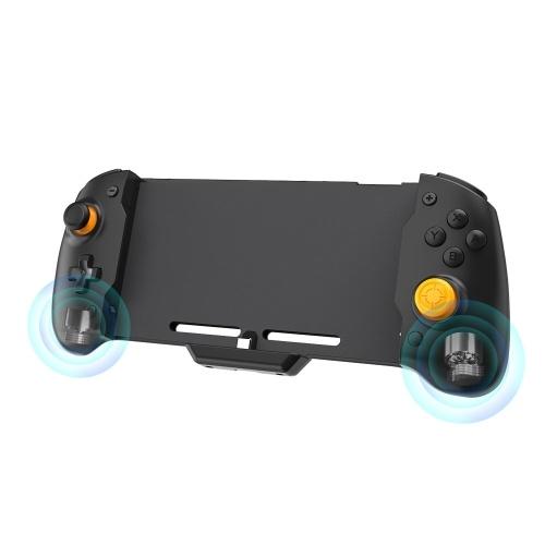 Mango Grip Controller Plug Dual Motor Vibration Reemplazo de giroscopio de 6 ejes para N-Switch Gamepad Host