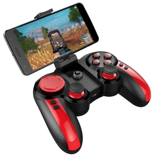 PG-9089 Bluetooth Gamepad Wireless Wired Joystick Mobile Phone Gamepad With Telescopic Phone Holder for Android PC F1808