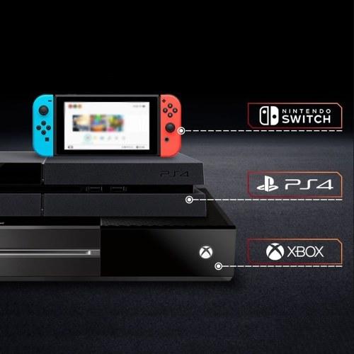 Winbox P1 Apex Clavier Souris BT Convertisseur Adaptateur pour PS4 Xbox NS Console de Jeux Microphone Casque Intégré