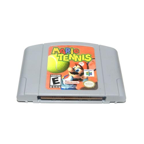 Für Nintendo 64 N64 Mario Smash Bros Zelda Videospiel Patrone Konsole Karte 64 Bit Spiele Englisch Sprache US Version (Mario Tennis)