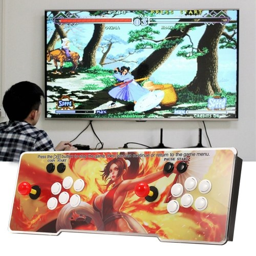 6S Arcade Console 1399 in 1 2 Players Control Arcade Game Box Machine Joystick