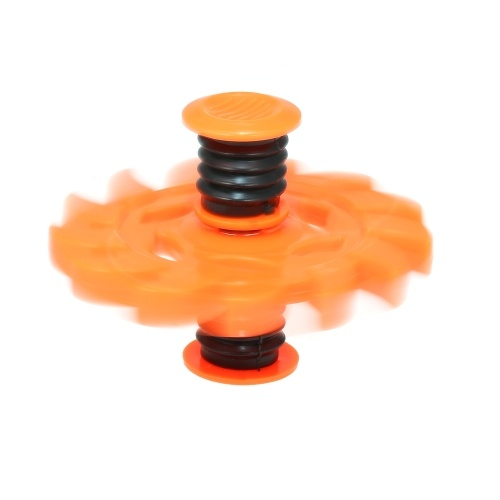 Fidget Finger Spinner Springing Bouncing Spinner Decompression Toy Anti Stress for Adults Kids