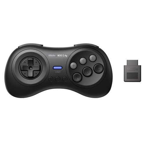 8BitDo M30 2.4G Wireless Gamepad + 2.4G Empfänger