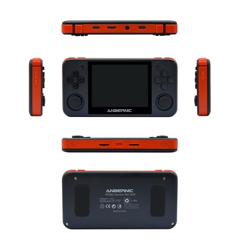 RG350P 3.5inch IPS Screen Retro Game Console with 32G TF Card