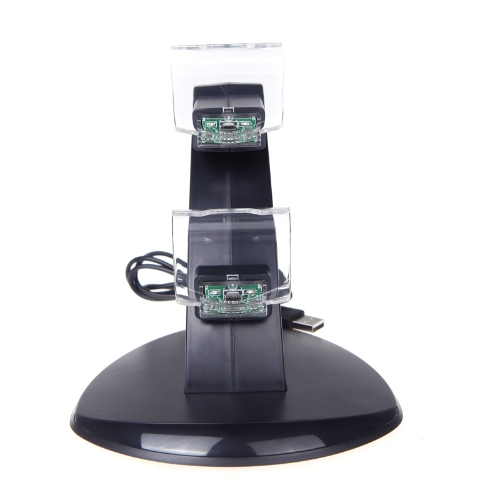 Двойной USB зарядное устройство зарядное Док-станции Подставка для PlayStation 4 ps4 контроллер