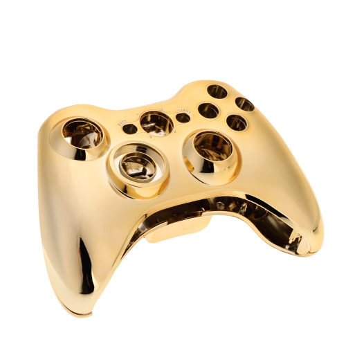 Metal Plated Gamepad Controller Housing Shell with Matching Buttons for Xbox360 Handle Shell Cover Case