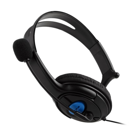 Wired Gaming Headset Unilateral Headphone with Microphone for PS4 PlayStation 4 PC