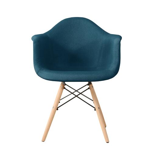 Fauteuil de style scandinave bleu ou gris clair - Interougehome