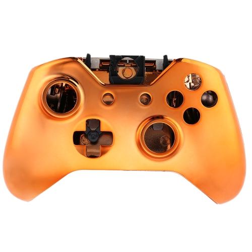 ゲームパッド シェル デュアルショック コント ローラー シェル カバー ケース 1 つ xbox ボタン オレンジ
