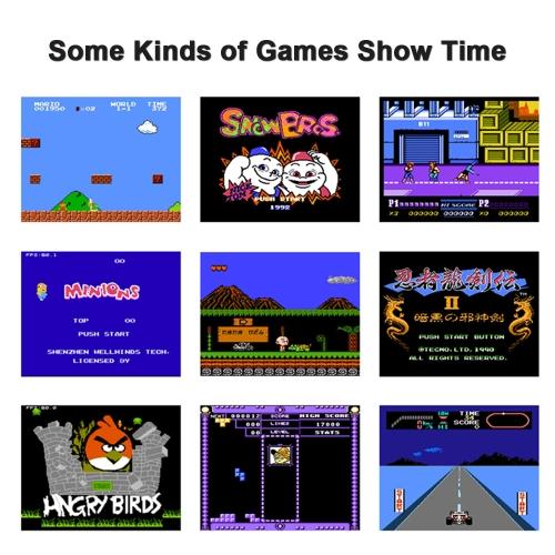 Portable Game Machine Console
