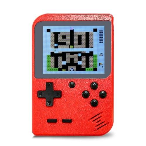 Mini jugador portátil de juegos portátil incorporado en 168 juegos retro