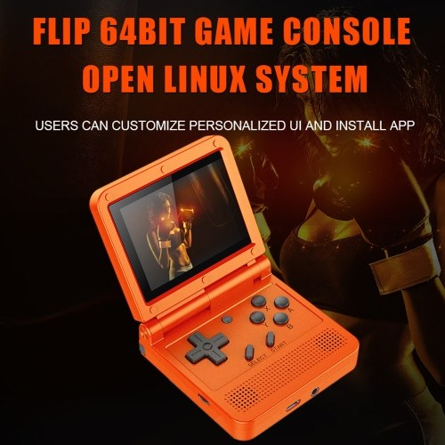 Flip Handheld Console with 16G TF Card Image