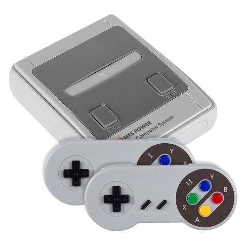 Bild von JY02 Classic Family Game Console Mini Handheld Built-in 557 Classic Games
