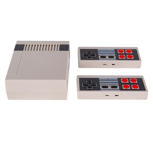 JY01 Classic Family Spielekonsole mit zwei 2,4G-Wireless-Controllern