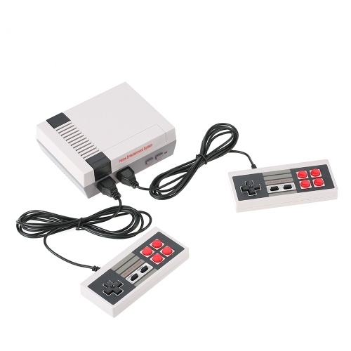 NES Game Machine Mini TV Handheld Game Console Family Recreation Video Game Console for Nes Games with 500 Classic Built-in Games
