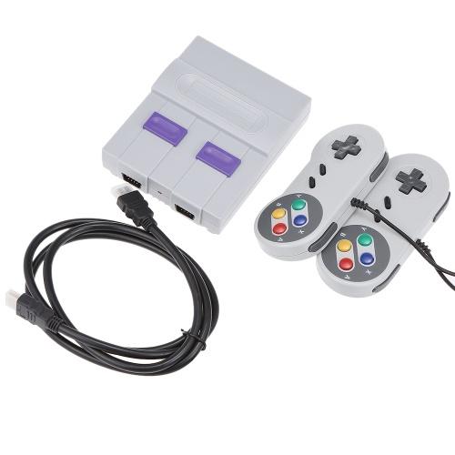 SN-02 Klassische Familie Spielkonsole Mini HD TV Video Spielekonsole Dual Gamepad Eingebaute 821 Klassische Spiele für SNES Spiele