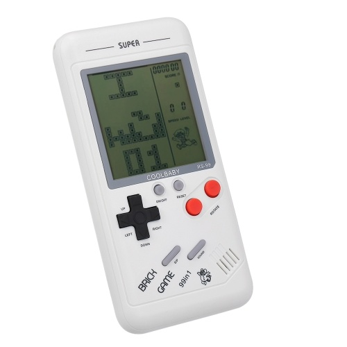 Image of RS-99 Classic Game Console Tetris Game Block Game Puzzle Games Handheld Game Machine