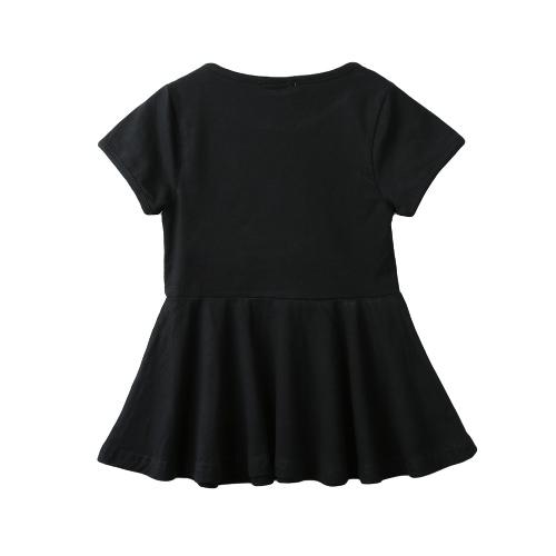 Nuevas chicas lindas Mini vestido Color