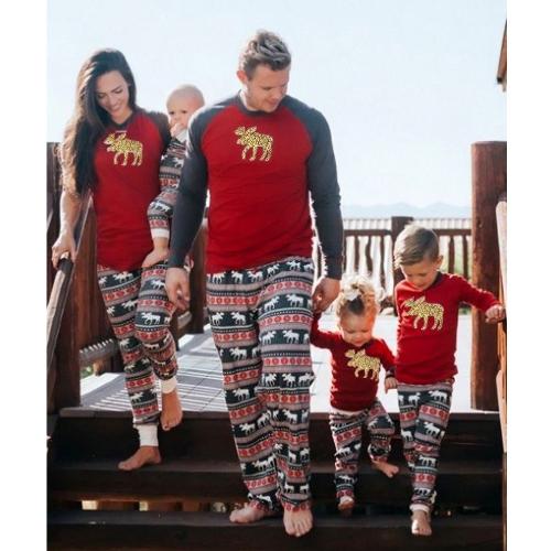 Kids Christmas Family Look Pajamas 130