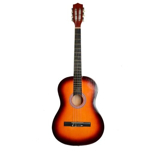 Guitarra acústica clásica profesional de 38