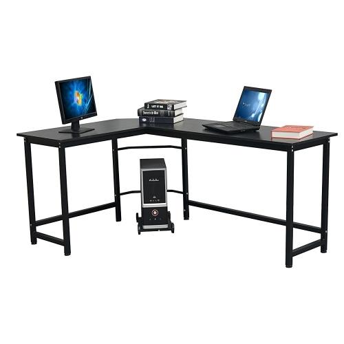 L-Shaped Desktop Computer Desk