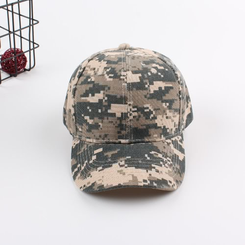 New Fashion Women Men Baseball Cap Camuflagem Unisex Hip-Pop Bone Tactical Sunscreen Cap