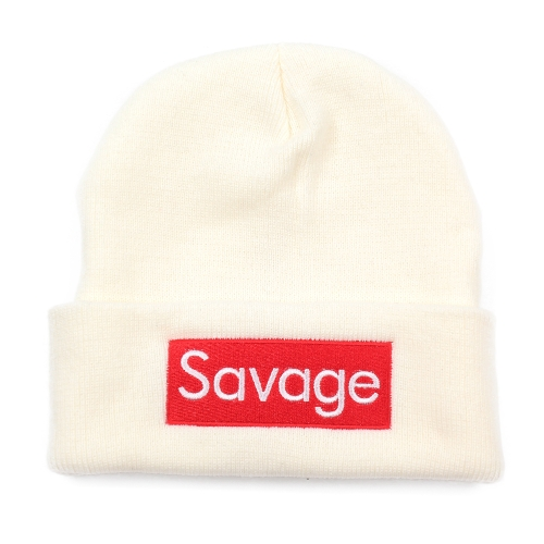 Frauen Männer Rose Stickerei Savage Beanie Hüte Bestickte Blume Strickmützen Warm Outdoors Skullies Caps