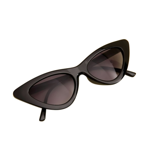 Moda Retro Sexy Cat Eye Sunglasses UV400 Mulheres Charme Vintage Triangle Sunglasses