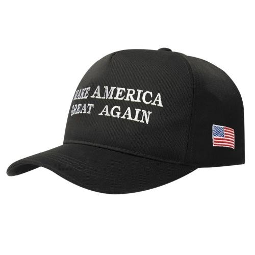 Дональд Трамп сделает Америку прекрасной регулируемой бейсбольной кепкой
