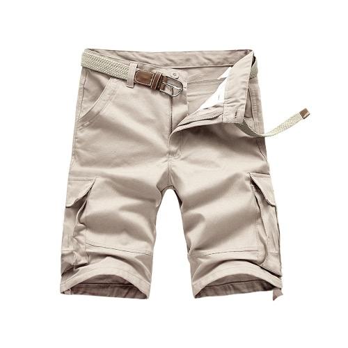 Stylish Summer Men's Multi-Pockets Casual Work Military Cargo Shorts G4060BE-40
