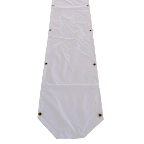 PVC Regenrinne 12m, weiß - Partyzelt