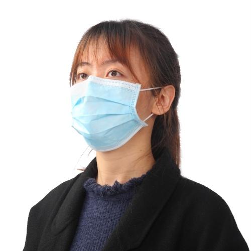 20pcs 3-Ply Disposable Face Mask with Elastic Earloop Anti-foaming Splash Anti Dust