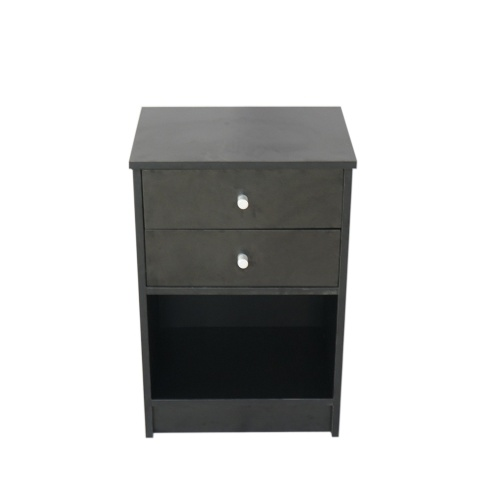 40 x 30 x 60cm Round Handle Cabinet with Two Drawer