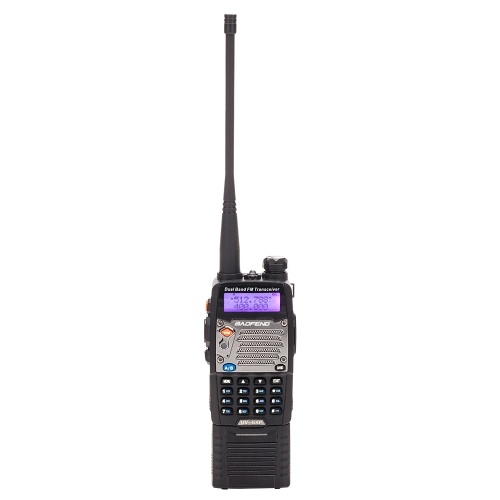 BAOFENG UV-5XP 7.4v 3000mAh 8W Двухдиапазонный Walkie Talkie Black Black