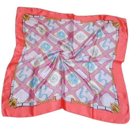 Las nuevas mujeres Pañuelo de contraste de impresión en color de la venda del pañuelo elegante pashmina