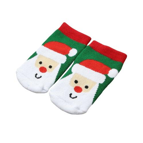 Mode Jungen-Mädchen-Weihnachtssocken Weihnachtsmann Schneemann-Geschenk beiläufige Festliche Printed Cotton Socken Strümpfe