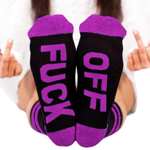 Otoño Invierno Invierno Cómodo Calcetín de Algodón Mujeres y Hombres Unisex Carta de Moda Calcetines Impreso Calcetines Estilo 1
