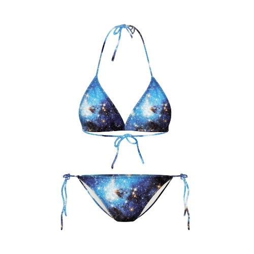 Nueva mujer Sexy Bikini conjunto dibujos animados Galaxy animales impresión espalda escotada de dos piezas traje de baño trajes de baño traje de baño