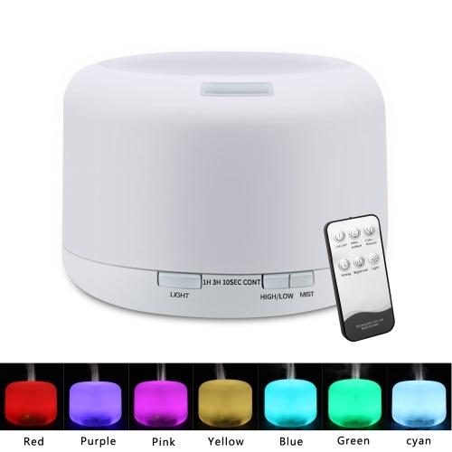 O2389YK 110 В 500 МЛ RGB Распылитель Аромата с Черным Контроллером